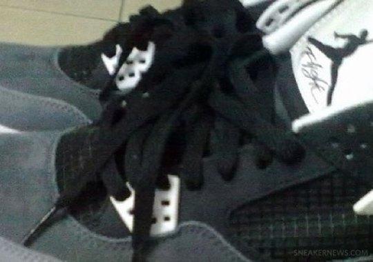 "Air Jordan IV ""Grey Cement"""