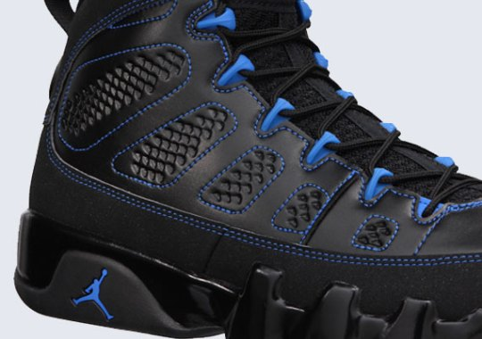 "Air Jordan IX ""Black Bottom"" – Release Info"