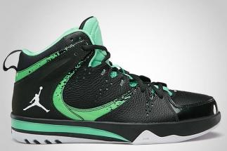 watch 9f7a6 315da Jordan Phase 23 Hoops II Black Spruce White – Green Glow 602671-331 07 2013