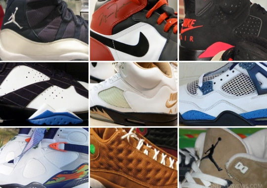 Unreleased Air Jordan Samples Through The Years