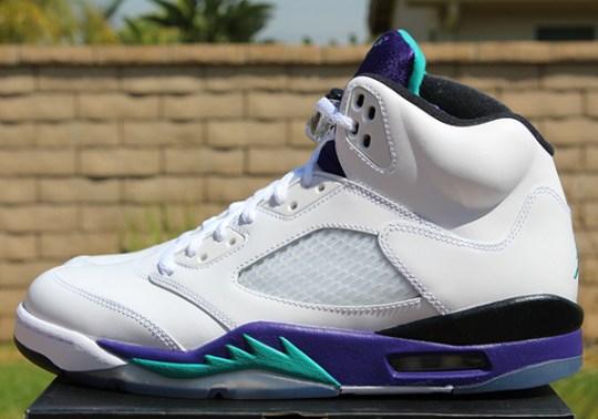 "Air Jordan V ""Grape"" – Release Reminder"