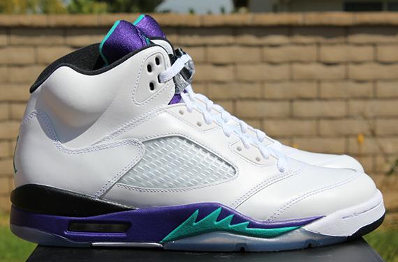 "Air Jordan V ""Grape"" - Release Reminder - SneakerNews.com"