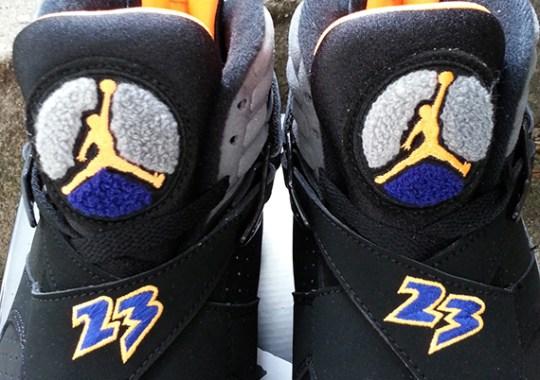"""Air Jordan VIII """"Suns"""" – Arriving at Retailers"""