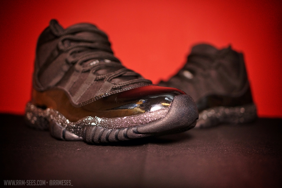 designer fashion 08f16 1cef4 ... of the Air Jordan XI. Continue reading to see this clean set ...