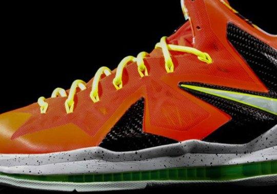 e775e3e4818 Nike LeBron X Elite  Total Crimson  - SneakerNews.com