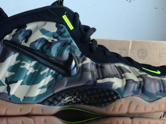 "Nike Air Foamposite Pro ""Camo"" – Available Early on eBay"