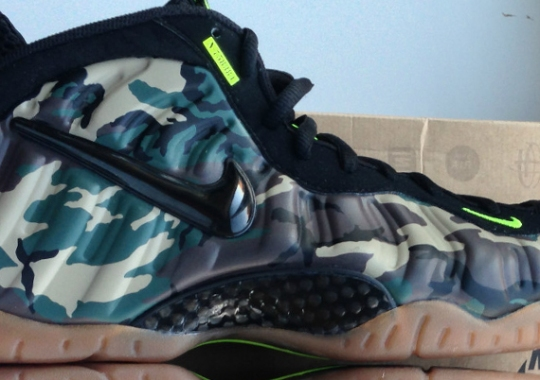 "f2a64643186 Nike Air Foamposite Pro ""Camo"" – Available Early on eBay"
