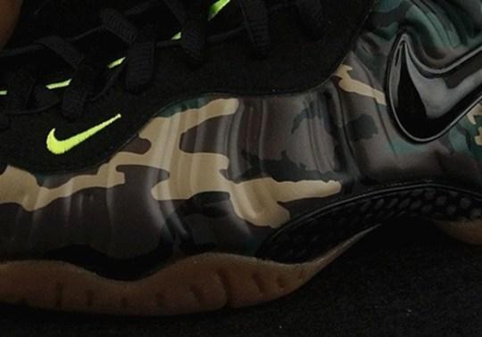 """Nike Air Foamposite Pro """"Camo"""" – Release Date"""