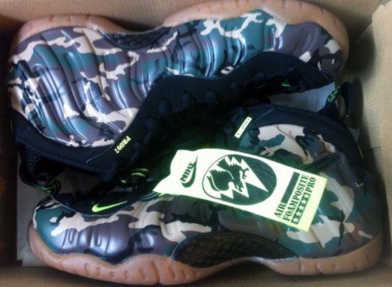 Nike Foamposite Camo Ebay
