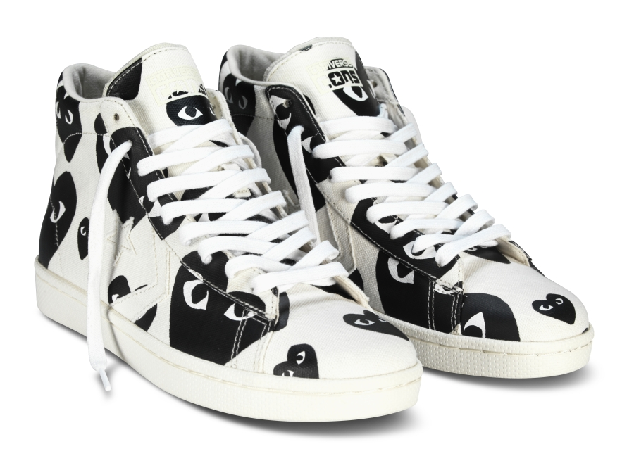 Comme Des Garcons Play X Converse Pro Leather