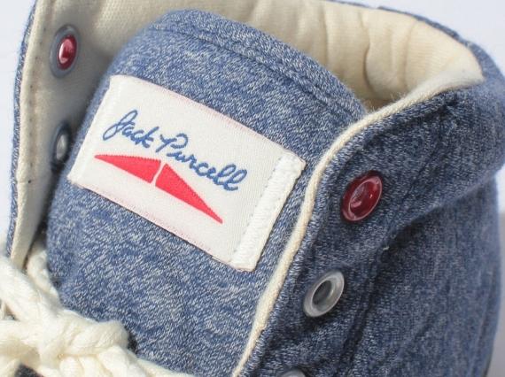 Converse Jack Purcell Mid quot Sweatshirtquot