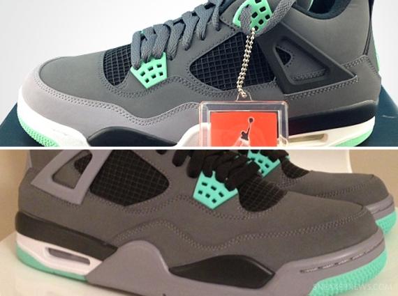 Air Jordan IV 4 Classic Green