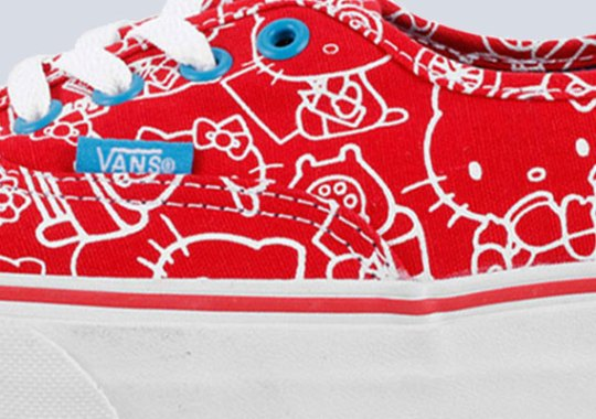 Hello Kitty x Vans Authentic