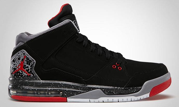 2c8bec6ab7b620 Jordan Flight Origin Black Fire Red-Cement Grey 599593-003 07 2013