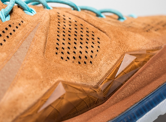 """Brown Suede"" Nike LeBron X EXT"
