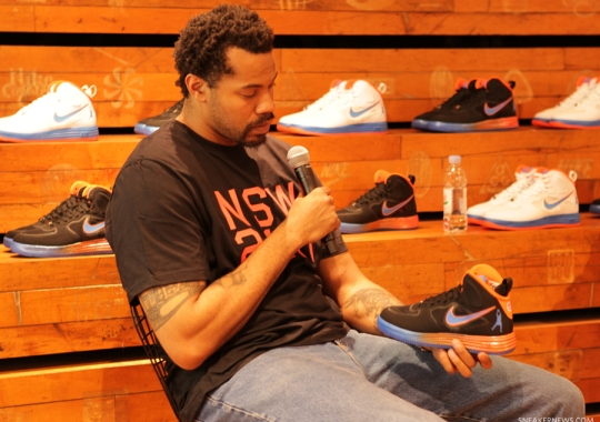 """Nike Lunar Force 1 """"Sheed"""" Release with Rasheed Wallace – Event Recap"""