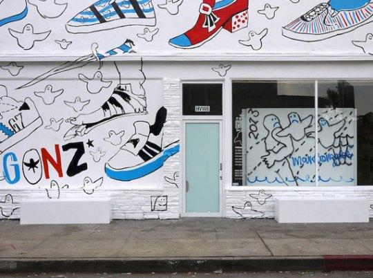 "Mark Gonzales x adidas Skateboarding ""15 Years of Gonz"" Exhibit"