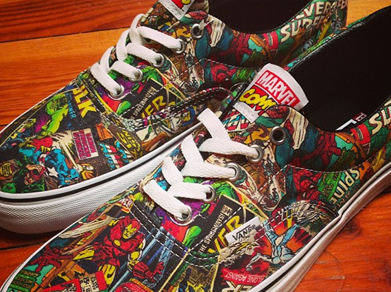 Marvel Comics is planning to link up with the sneaker world once again. The  company looks to be back in bed with Vans ff7b24ed3230
