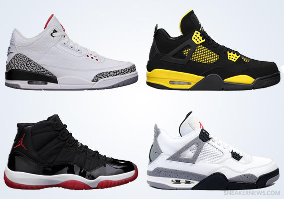 UPDATE  Click here for confirmed Air Jordan restock info for Memorial Day  Weekend 2013. a1a764236067