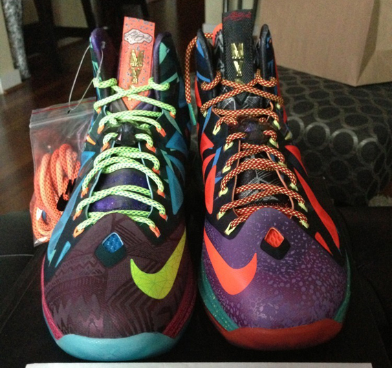 """Nike LeBron X """"What The MVP"""" - Available on eBay - SneakerNews.com"""
