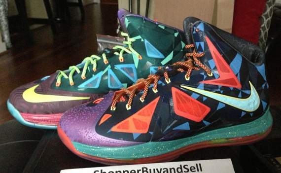 nike lebron x quotwhat the mvpquot available on ebay