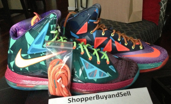 """Nike LeBron X """"What The MVP"""" - Available on eBay ... Lebron 10 What The Mvp"""