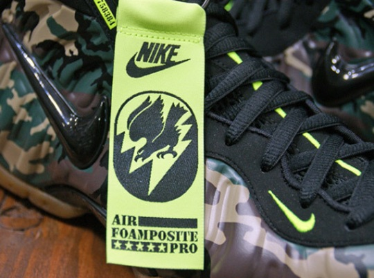 Nike Air Foamposite Pro – Forest – Black