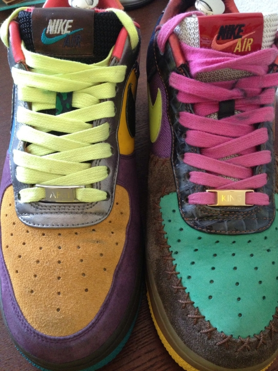 new style 47ea2 4cdf1 nike air force 1 bespoke lottery ticket