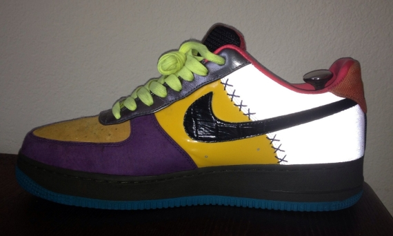 Nike Air Force 1 Bespoke Quot Lottery Ticket Quot Sneakernews Com