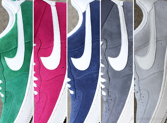 new product 14514 52fb7 What started as a set of lowtops has expanded into highs, and now five of  the Nike Air Force 1 Blazer colorways are set to release this Saturday,  ...