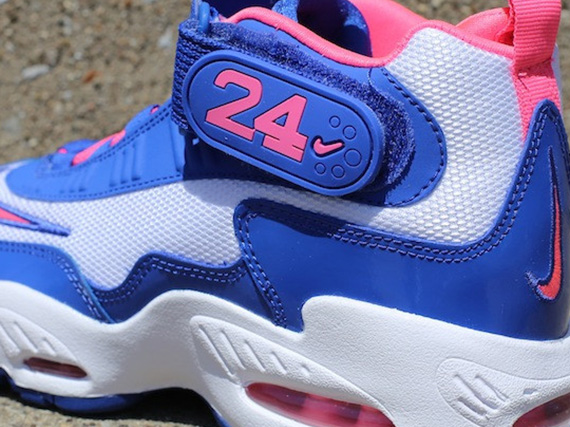 low priced d9f20 aee97 Nike Air Griffey Max 1 GS – White – Game Royal – Digital Pink