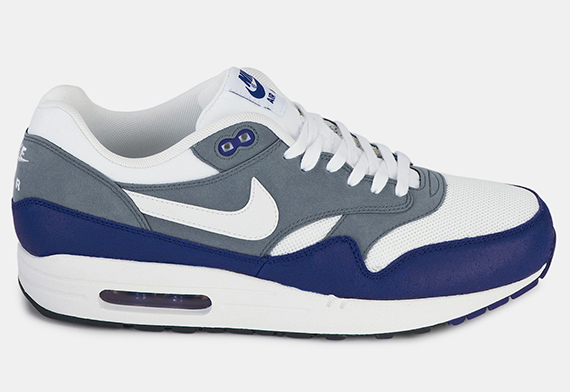 Cheapest Nike Air Max 1 White Grey Black Blue 91c96 14eaf