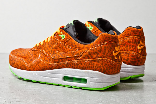nike air max 1 fb orange leopard buying