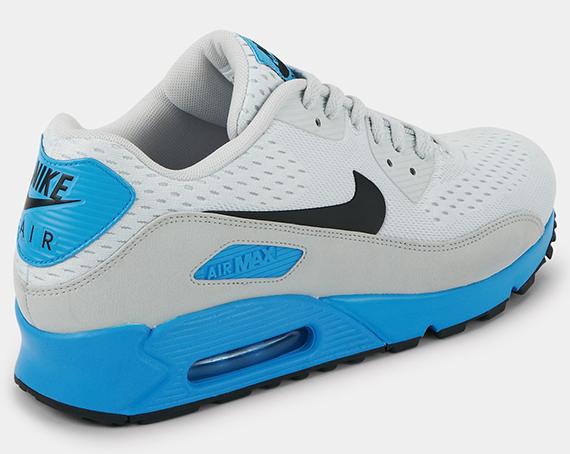 sale retailer 533b8 8e72e Nike Air Max 90 Premium Comfort EM Pure Platinum Black-Blue Hero 599405-004  06 2013. Advertisement
