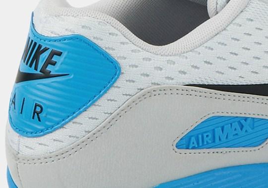 Nike Air Max 90 EM – Pure Platinum – Black – Blue Hero