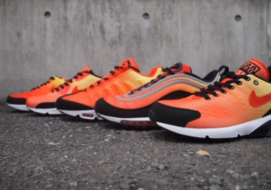 "new arrivals fccd1 78fb0 Nike Air Max EM ""Sunset Pack"" – Arriving at Asia Retailers"