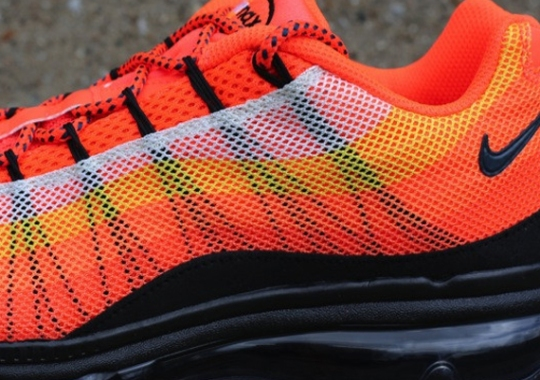 """new arrival 97094 6d70f Nike Air Max 95 Dynamic Flywire """"Total Crimson"""""""