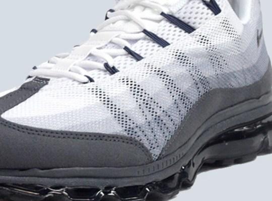 Nike Air Max 95 Dynamic Flywire – White – Grey – Black