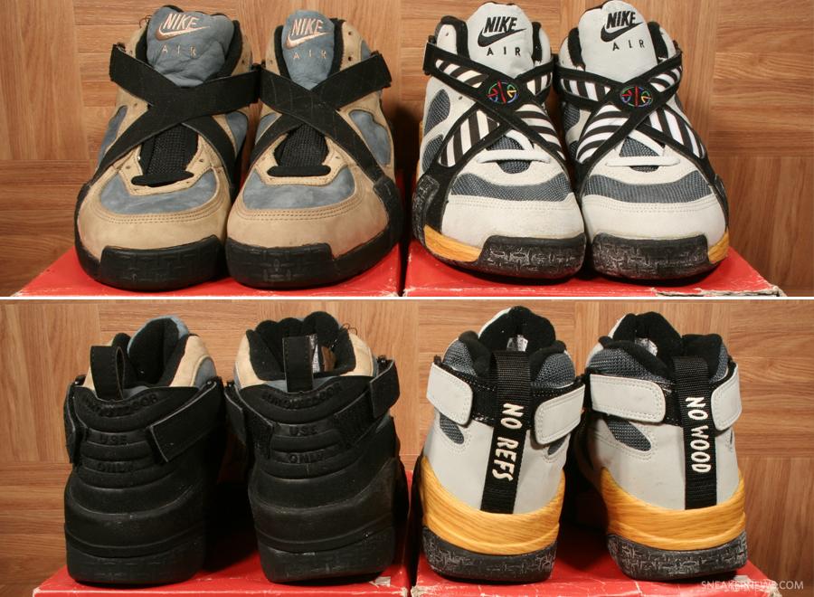 Original Nike Air Raid LE and Air Raid II