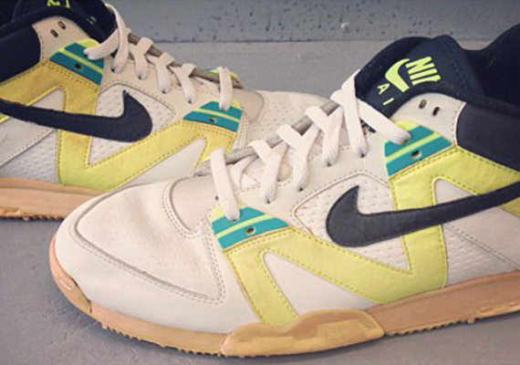 9605b4617cbb ... Nike Air Tech Challenge III – Andre Agassi French Open Clay Court PE ...