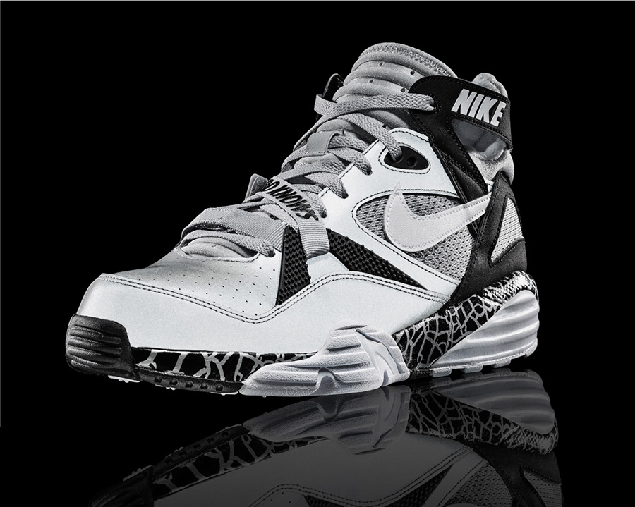 Bo Jackson Black And White Shoes