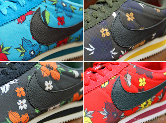 buy online 580b0 0b093 ... Nike Cortez Aloha pack blue  The Asia City Pack Quickstrikes were  exclusive to the other side of the world, so ...