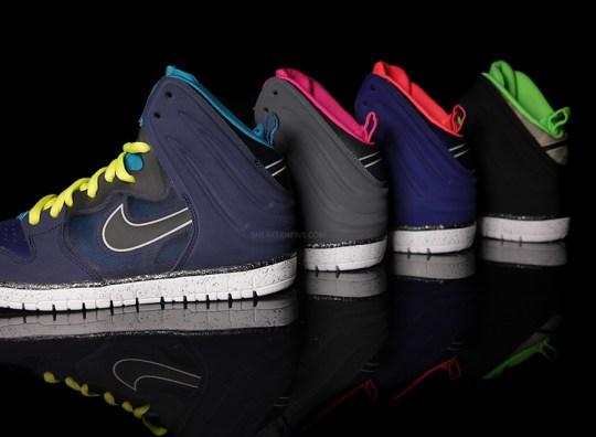 Nike Dunk High Free – June 2013