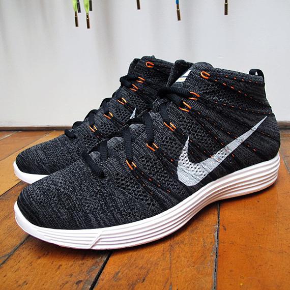 Nike Lunaire Flyknit Chukka Brouillard De Minuit