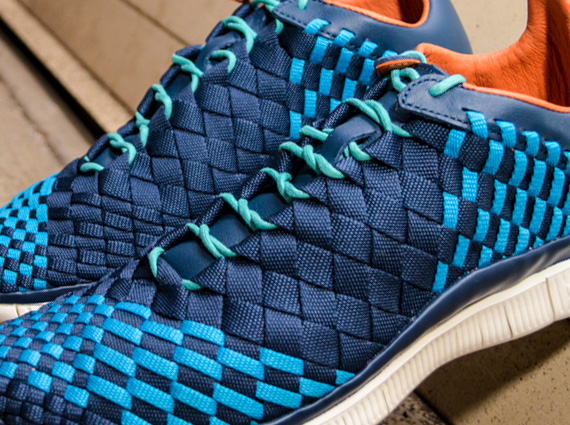 premium selection 20d21 ec55c Nike Free Inneva Woven – Squadron Blue – Neo Turquoise