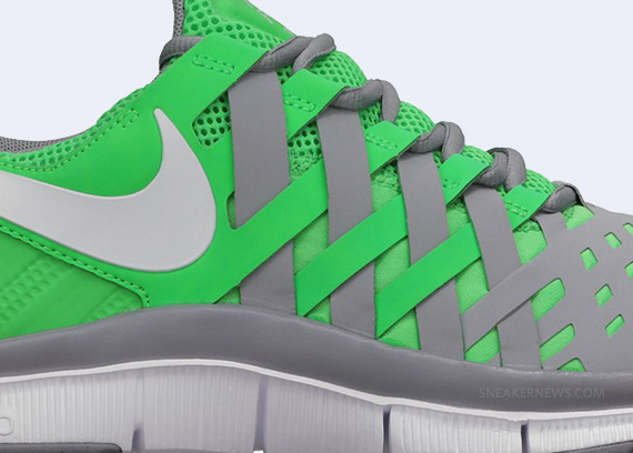 timeless design 4cc02 e22f1 Nike Free Trainer 5.0 – Poison Green – Stadium Grey