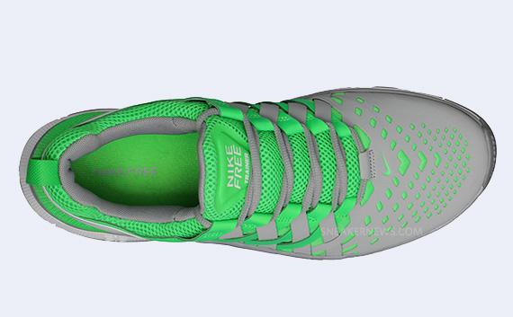 free shipping 02d91 6facc Nike Free Trainer 5.0. Poison Green Stadium Grey-White 579809-300.  Advertisement
