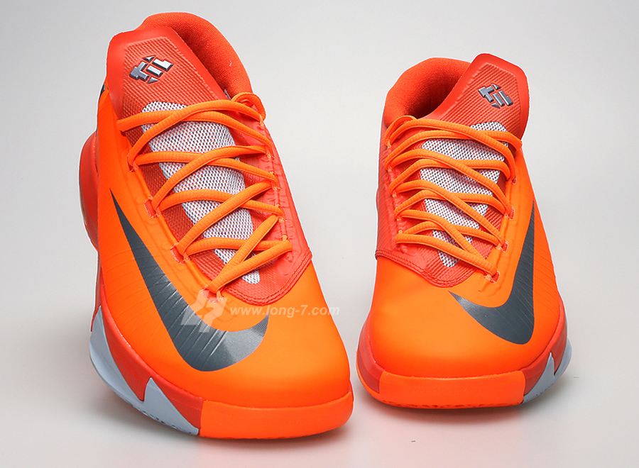 super popular b25ad 1e506 Nike KD VI - Total Orange - Armory Slate - SneakerNews.com