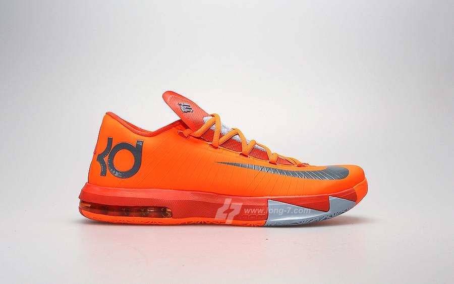 2b84aca776b1 Nike KD VI - Total Orange - Armory Slate - SneakerNews.com
