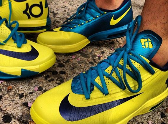 df1ff7cd33bd Nike KD VI - Yellow - Blue - SneakerNews.com